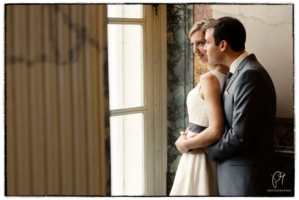 klassisches Hochzeitsfotos im Kuppelsaal