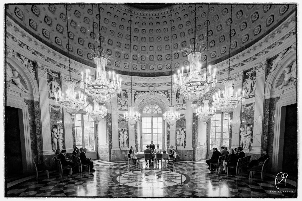 Kuppelsaal im Benrather Schloss