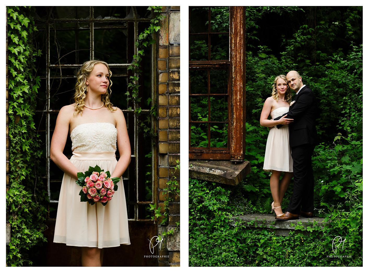 Hochzeitsfotos vom Brautpaar in der Villa Au in Velbert, NRW. Die Hochzeitsreportage wurde mit der Canon 5D Mark III aufgonommen und mit Lightroom bearbeitet.